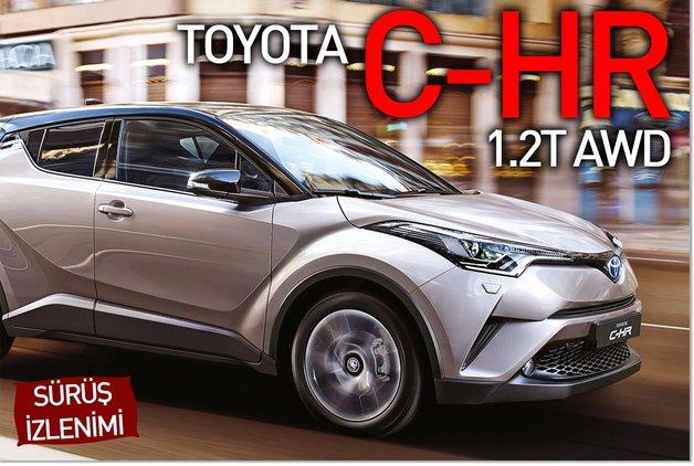 SÜRÜŞ İZLENİMİ · Toyota C-HR 1.2T AWD
