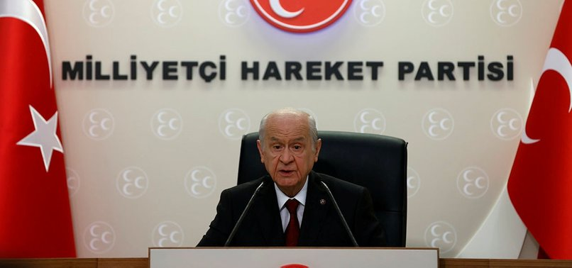 MHP LEADER BAHÇELI INTRODUCES PROPOSAL FOR NEW CONSTITUTION