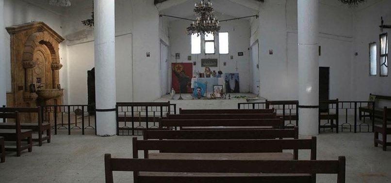 YPG/PKK USES ARMENIAN CHURCH AS MILITARY HEADQUARTERS
