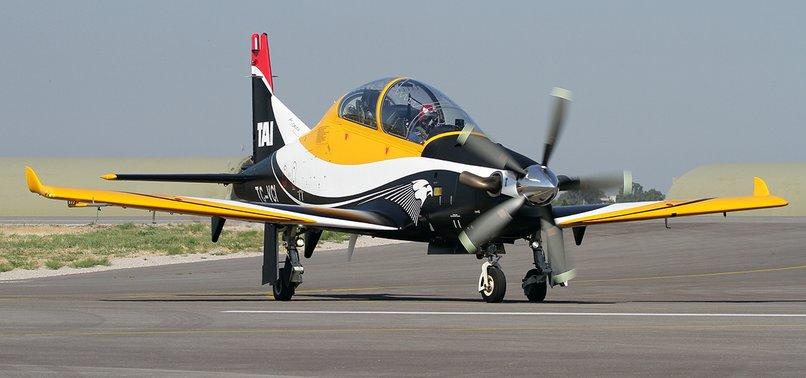 TURKEYS DOMESTICALLY-MADE HURKUS-B AIRCRAFT COMPLETES FIRST TEST FLIGHT