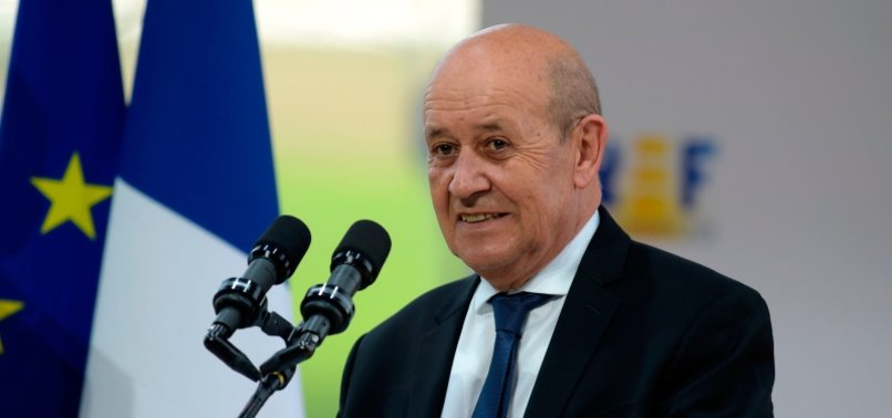 French FM Le Drian urges transparency from Russia over Navalny - anews