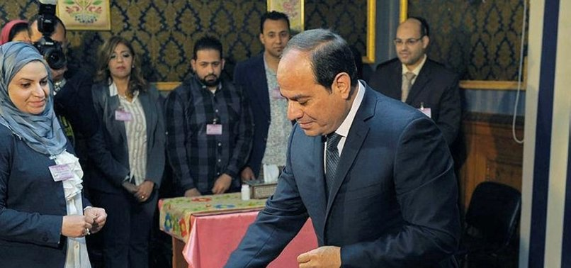 EGYPT'S SISI WINS 2ND TERM IN OFFICE - OFFICIAL RESULTS