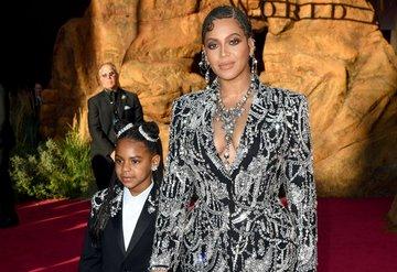 Beyonce ve Blue Ivy'nin stil eşleşmesi