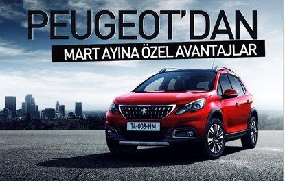 Peugeot'dan Mart ayına özel avantajlar