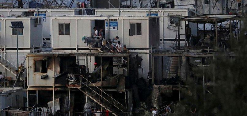 MOTHER, CHILD DEAD AFTER MIGRANTS SET FIRES AT GREECE CAMP