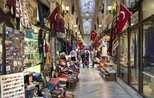 Historic passages in Beyoğlu attract visitors