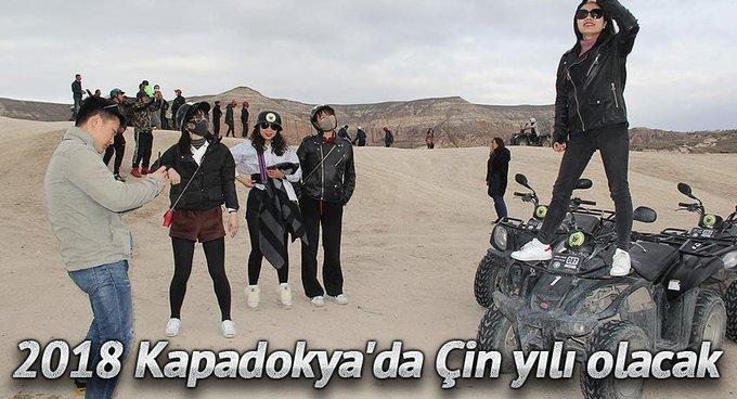 2018 Kapadokyada Çin yılı olacak