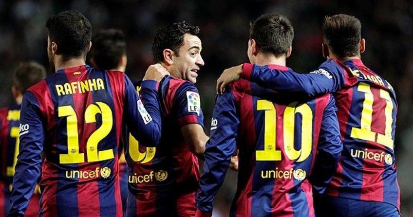 Barcelona'dan gol şov!