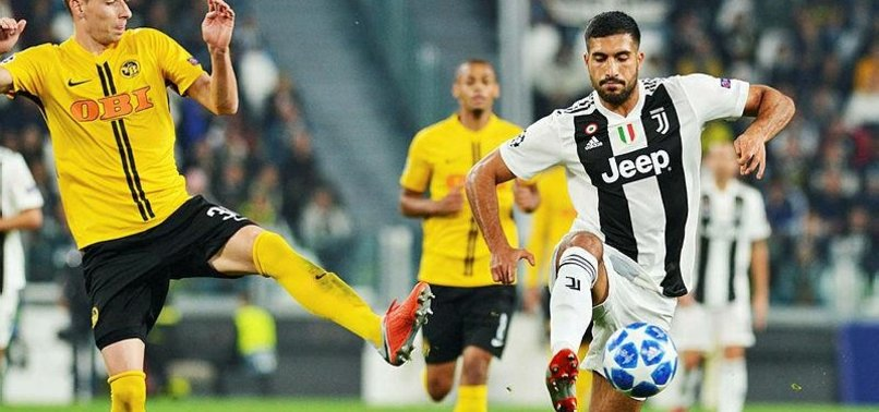 JUVENTUS MIDFIELDER EMRE CAN UNDERGOES THYROID SURGERY