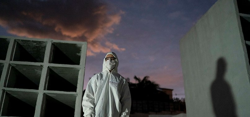 BRAZIL SEES 1,280 NEW VIRUS FATALITIES AND 648 MORE DIE IN MEXICO