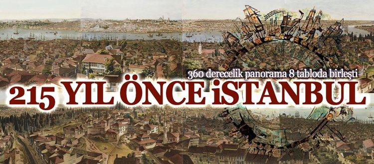 215 yıl önce 1453 panorama