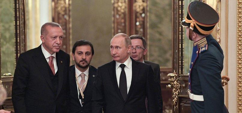 ERDOĞAN SAYS TURKEY AIMS $100B TRADE VOLUME WITH RUSSIA