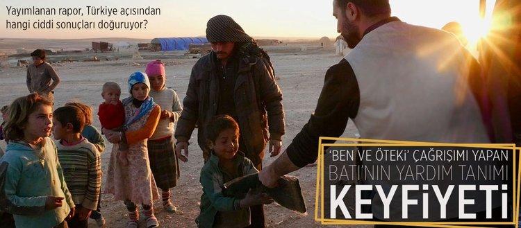 Batı'nın 'yardım' tanımı keyfiyeti