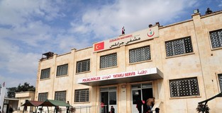 Turkish hospital heals wounds in war-torn Syria