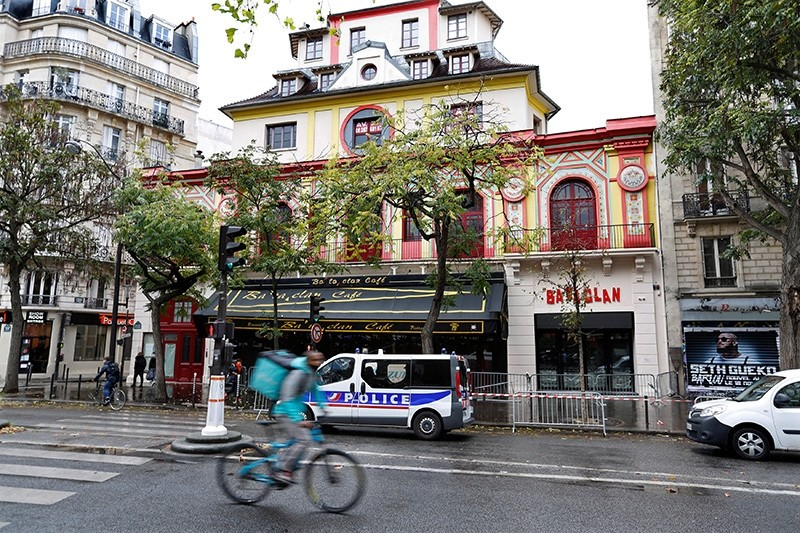 A view shows the Bataclan concert hall with its new facade almost one year after a series of attacks at several sites in Paris, France, November 8, 2016. Picture taken November 8, 2016. (Reuters Photo)