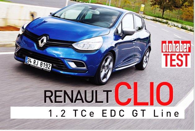 TEST · Renault Clio 1.2 TCe EDC GT Line