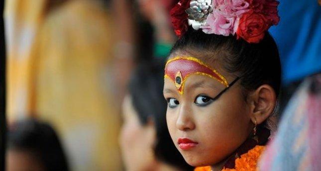 Nepal'in son kutsal kızı, yaşayan tanrıçası