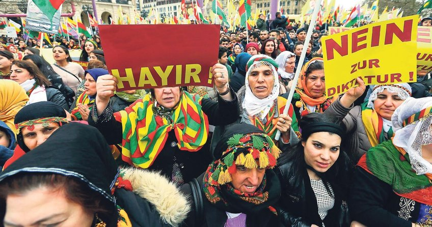 'Hayır'ı PKK organize etti
