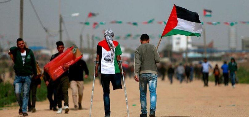 GAZA GROUPS WARN ISRAEL AGAINST ATTACKING PROTESTERS
