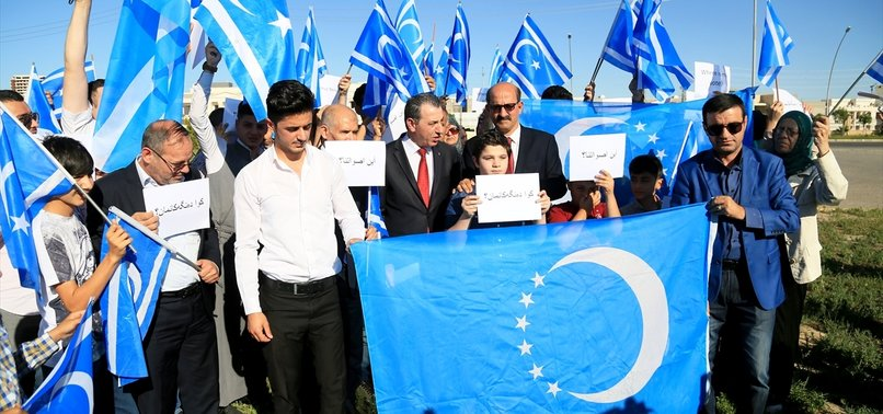 IRAQI TURKMEN VOICE SUPPORT FOR DEMOS IN BASRA, KIRKUK