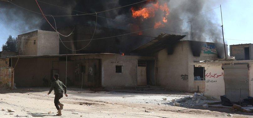 REGIME SHELLING KILLS 5 CIVILIANS IN SYRIAS IDLIB