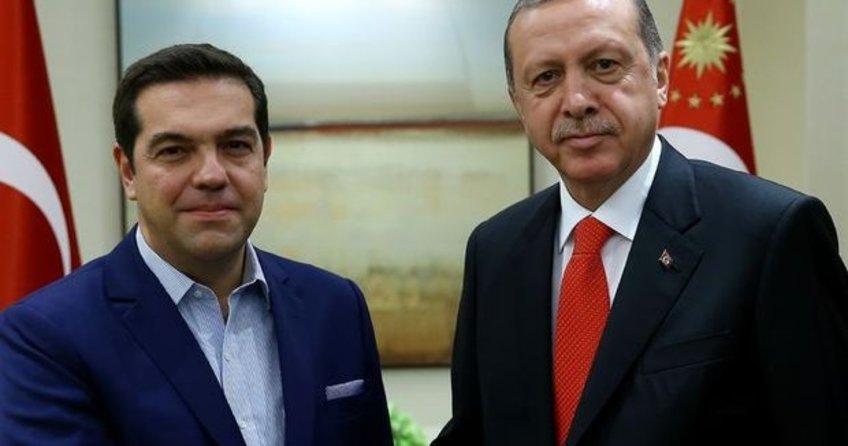 Erdoğan ile görüşen Çipras: Darbelere karışanların Yunanistan'da yeri yok