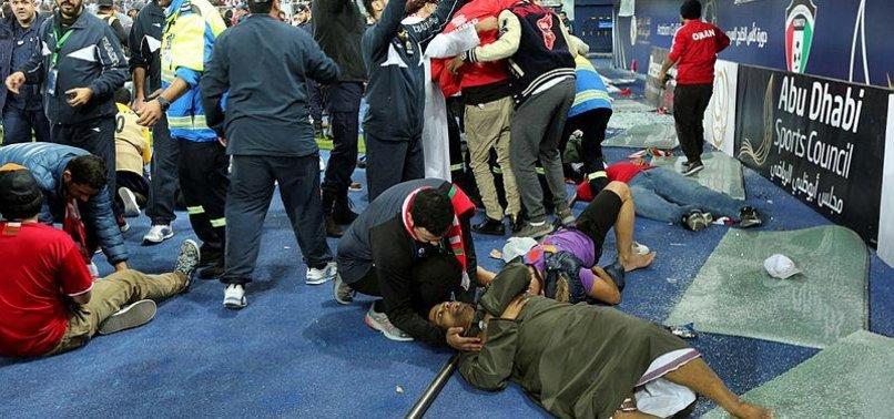 40 FANS INJURED IN STAMPEDE AT GULF CUP FINAL IN KUWAIT