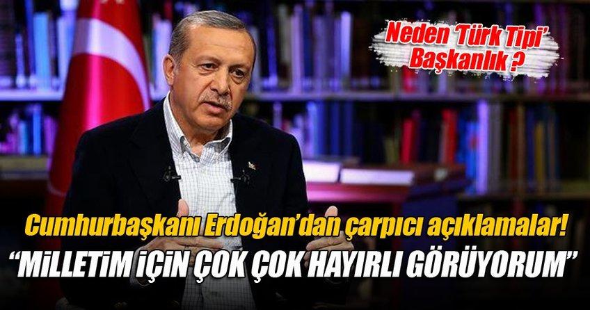 Cumhurbaşkanı Erdoğan'dan El Cezire'ye çarpıcı açıklamalarda bulundu
