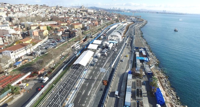 Istanbul's Eurasia Tunnel, which is 14.5 kilometers long, opens to public use today (source: Daily Sabah)