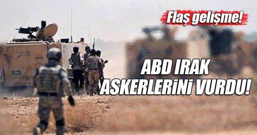 ABD, Irak ordusuna mensup askerleri vurdu!