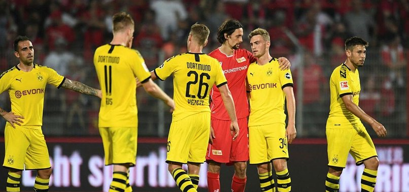 UNION SHOCK DORTMUND 3-1 FOR MAIDEN BUNDESLIGA WIN
