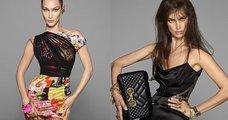 Versace: Irina Shayk ve Bella Hadid