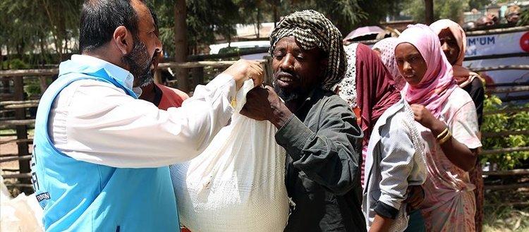 Etiyopya'da binlerce ailenin iftar sofrası TDV ile bereketlendi