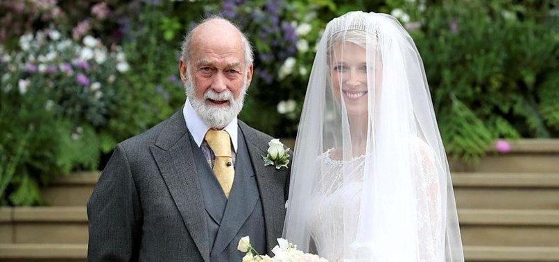 QUEEN ELIZABETH II ATTENDS YET ANOTHER WEDDING AT WINDSOR