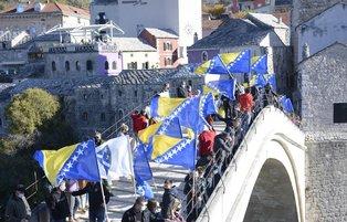 Bosnia marks anniversary of Mostar Bridge's demolition