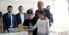 Erdoğan led in all ballot boxes presidential candidates cast their votes in