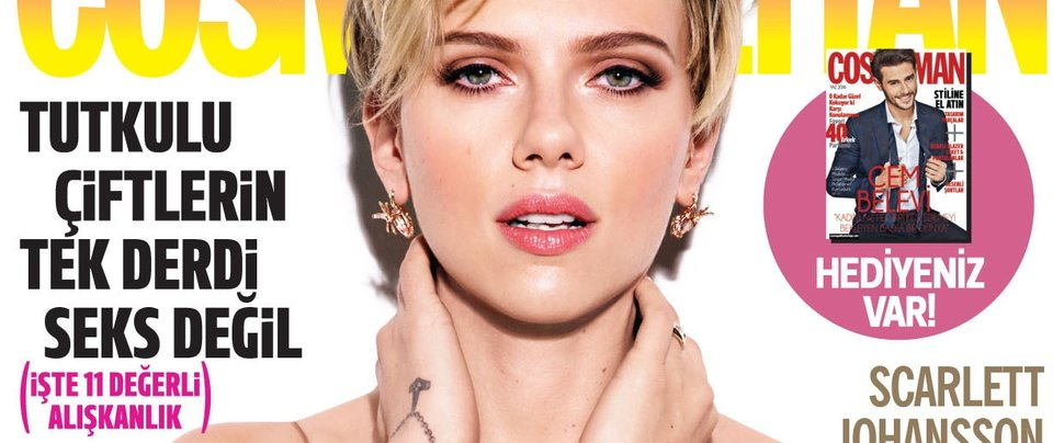 Cosmo'ya yaz Scarlett Johansson'la geliyor!