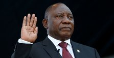 Cyril Ramaphosa takes oath as South Africa's president