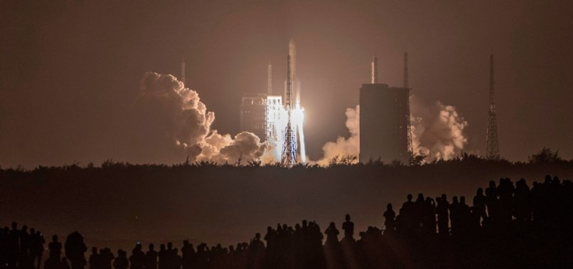 CHINA LAUNCHES HISTORIC MISSION TO MOON