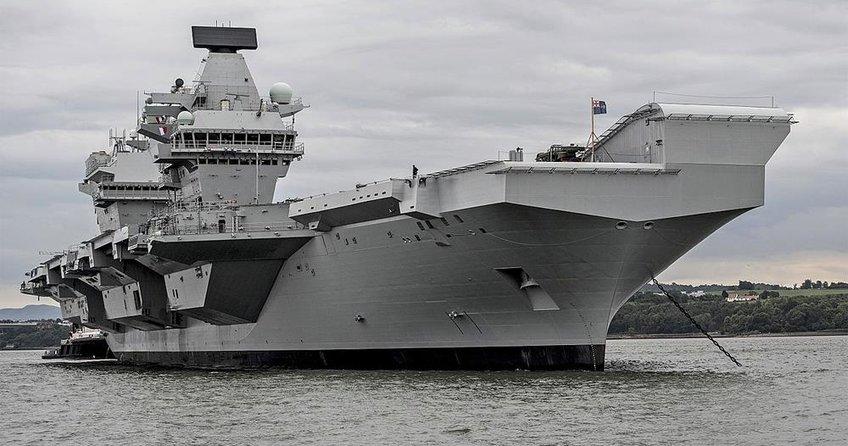3 milyar sterlinlik gemi su alıyor