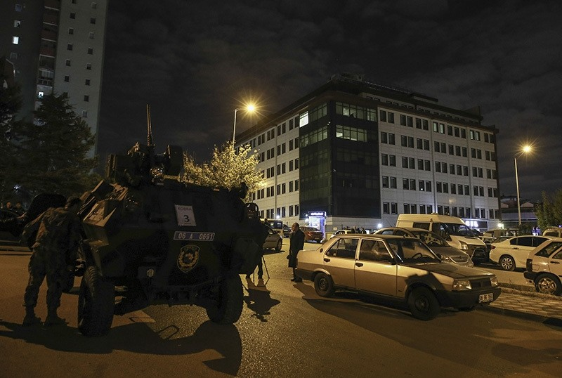 Daesh terrorist killed in counter-terror operation in Ankara after police received reports the terrorist would prepare a suicide attack, Oct. 19, 2016, Ankara. (Anadolu Agency Photo)
