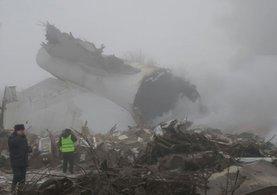 747 tipi Türk kargo uçağı Bişkek'te düştü!