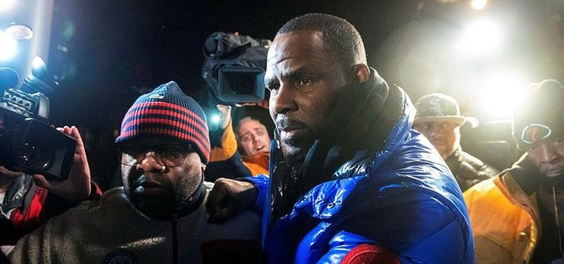 R&B STAR R. KELLY JAILED ON SEX ABUSE CHARGES