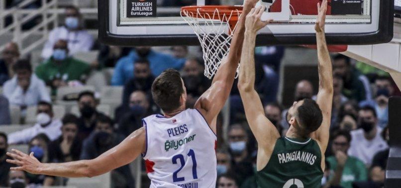 Anadolu Efes lose to Panathinaikos 95-69 in EuroLeague