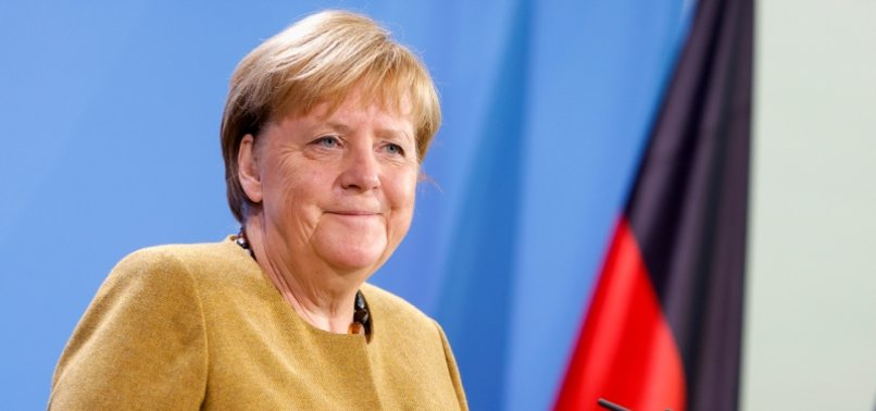 GERMANYS MERKEL IN VIDEO CALL FAREWELL WITH CHINAS XI