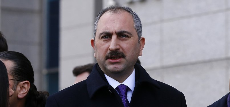 TURKEY WILL NOT BE SILENT IN FACE OF THREATS POSED BY TERRORISTS ACROSS BORDER, JUSTICE MIN. SAYS