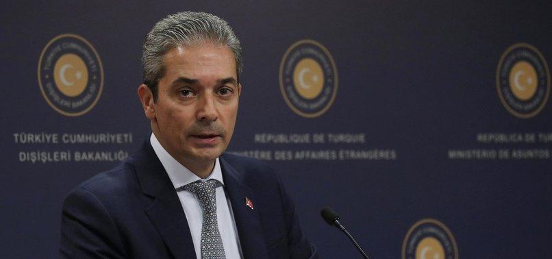 TURKEY WARNS AGAINST HAFTAR ATTACKS ON ITS INTERESTS IN LIBYA