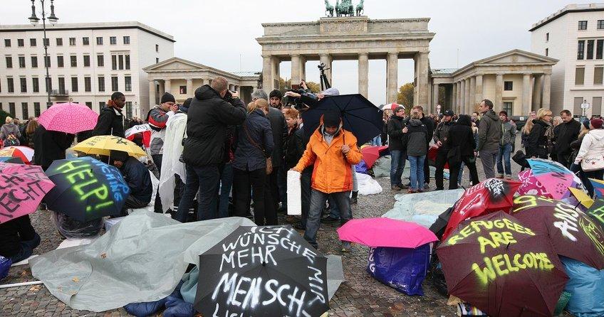 Mültecilerin tek hedefi Almanya