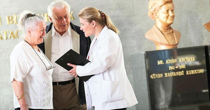 'Raporunu gönder hastanemiz incelesin'
