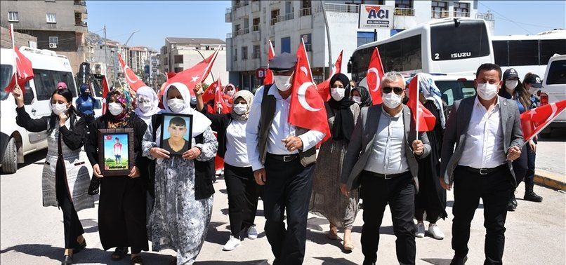 PROTESTS AGAINST PKK TERROR GROUP CONTINUE IN EASTERN TURKEY